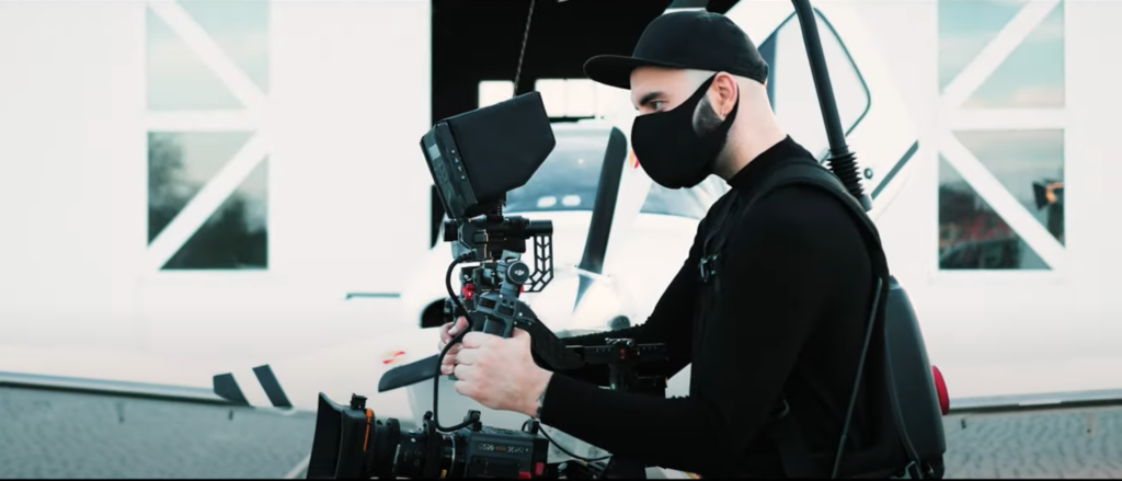 Quantgene Covid Protect testing for video productions